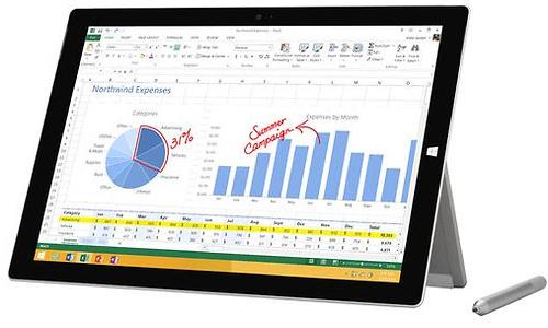 Microsoft Surface Pro 3 128GB (i5, Win 10 + Office 365)