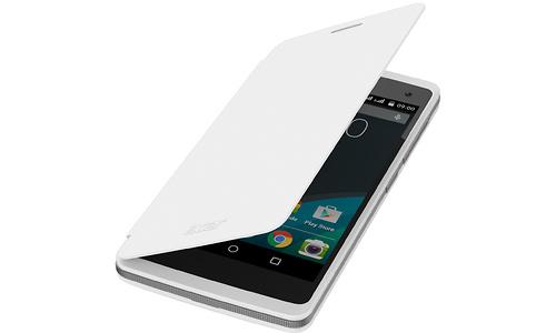 Acer Liquid Z220 Flip Case White