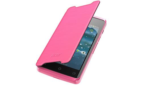 Acer Liquid Z200 Flip Cover Pink