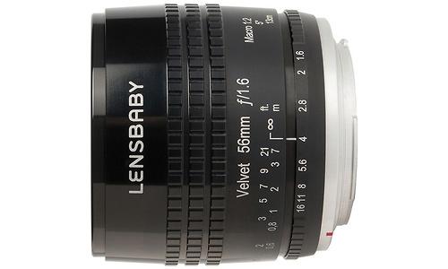 Lensbaby Velvet 56mm f/1.6 Black (Micro 4/3)
