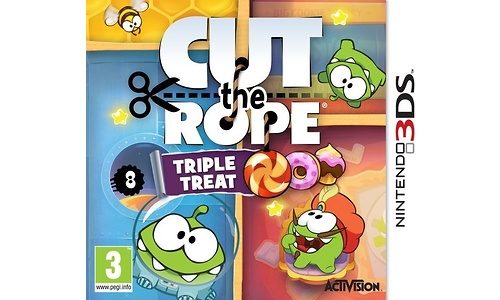 Cut the Rope Triple Treat (Nintendo 3DS)