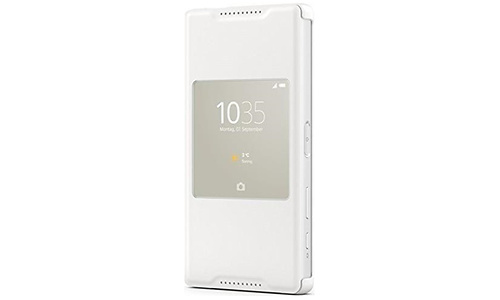 Sony Smart Style-Up Cover SCR44 for Xperia Z5 Compact White