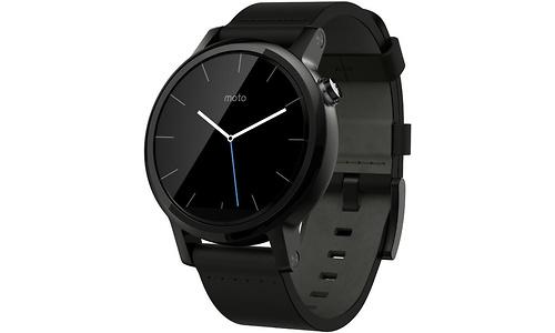Motorola Moto 360 Gen 2 Leather Black