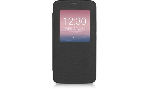 Alcatel Aero Flip Case Alcatel One Touch Idol 3 4.7 Dark Grey