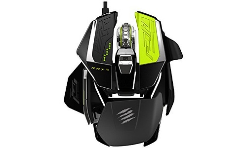 Mad Catz R.A.T. Pro X Gaming Mouse Pixart PMW 3 Black/Green