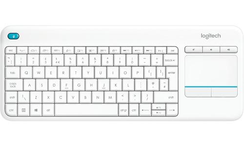 Logitech Wireless Touch K400 Plus White (US)