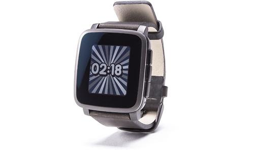 Pebble Time Steel Black