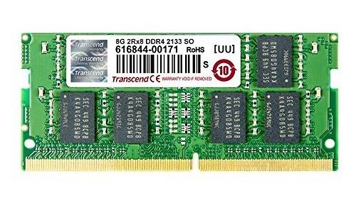 Transcend 8GB DDR4-2133 ECC CL15 Sodimm