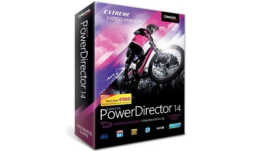 CyberLink PowerDirector 14 Ultimate Suite (DE)