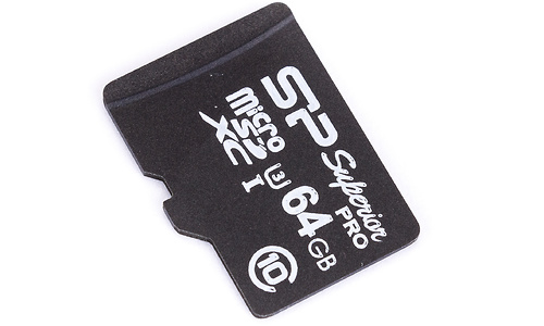 Silicon Power MicroSDXC UHS-I U3 64GB + Adapter
