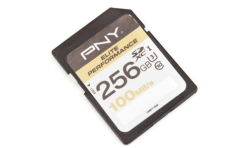 PNY Elite Performance SDXC UHS-I U3 256GB