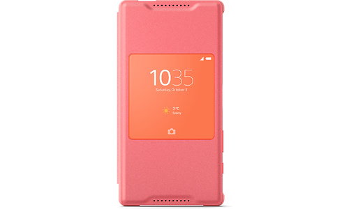 Sony Xperia Z5 Compact Style Cover Pink
