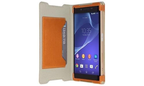 Krusell Kiruna Wallet Case Sony Xperia Z5 Brown