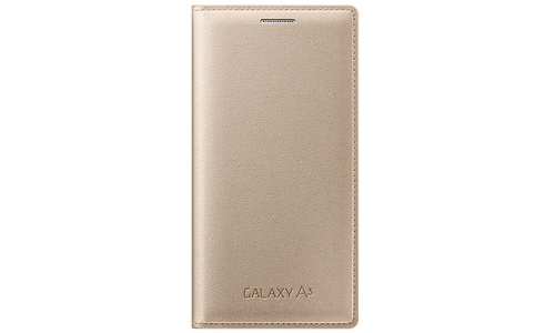 Samsung Flip Cover Galaxy A3 Gold