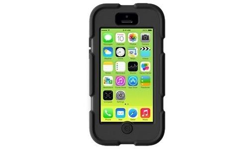 Griffin Survivor Clove Apple iPhone 5C Black