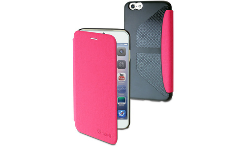 Muvit Folio Card Case for Apple iPhone 6 / 6S Pink