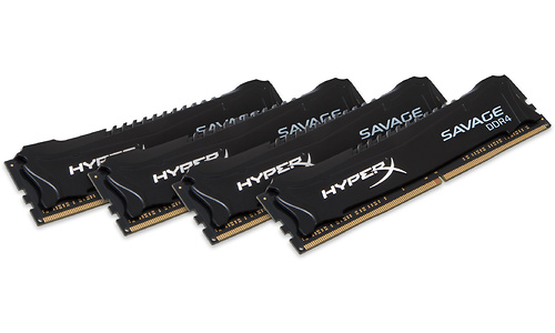 Kingston HyperX Savage Black 32GB DDR4-2400 CL12 quad kit
