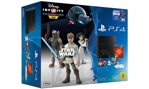 Sony PlayStation 4 500GB + Disney Infinity 3.0
