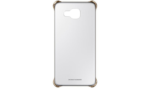 Samsung A5 Clear Cover Gold