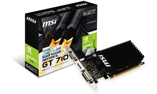 MSI GeForce GT 710 Passive 2GB