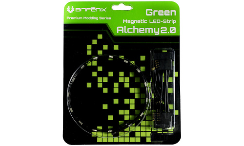 Bitfenix Alchemy 2.0 Magnetic 30cm/15Led Green