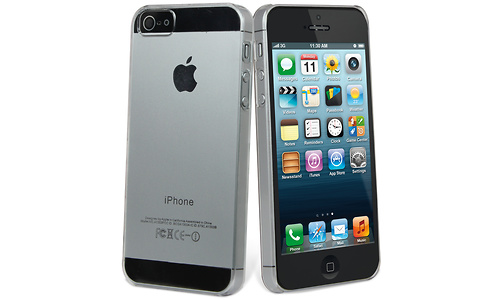 Muvit Crystal Case Transparent + Screen iPhone 5