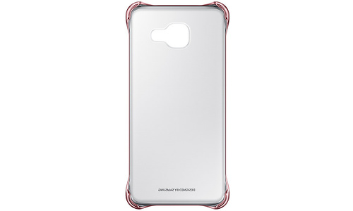Samsung Galaxy A3 2016 Clear Cover Pink Gold