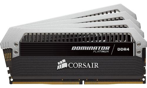 Corsair Dominator Platinum 64GB DDR4-3466 CL16 quad kit + Fan