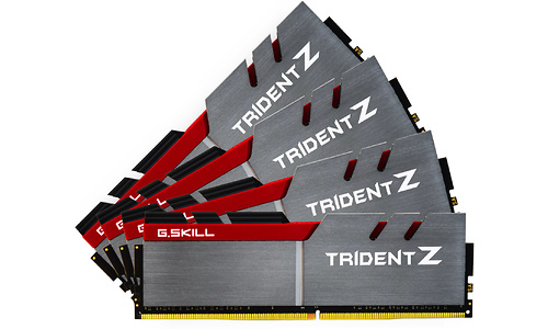 G.Skill Trident Z 64GB DDR4-3400 CL16 quad kit