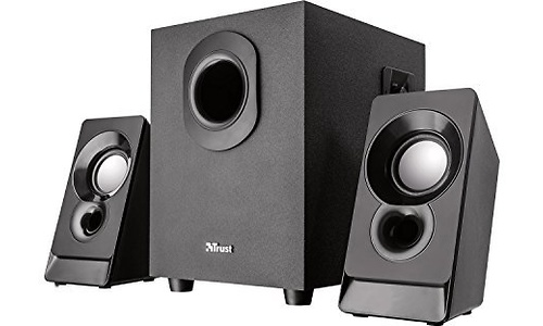 Trust Argo 2.1 Subwoofer Speaker Set Black