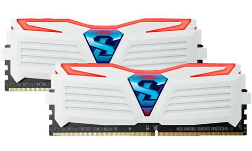 Geil Super Luce White/Red 16GB DDR4-3000 CL15 kit