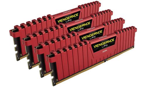 Corsair Vengeance LPX Red 32GB DDR4-3000 CL15 quad kit