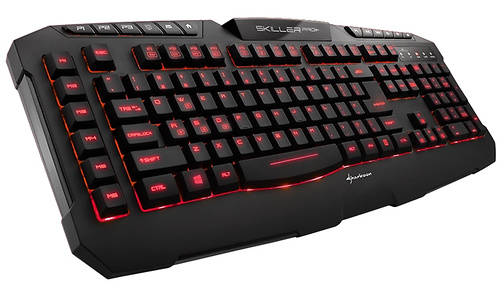 Sharkoon Skiller Pro+ Gaming Keyboard (DE) Black