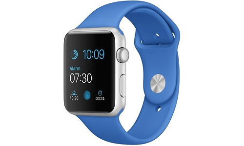 Apple Watch Sport 42mm Silver Aluminium Royal Blue