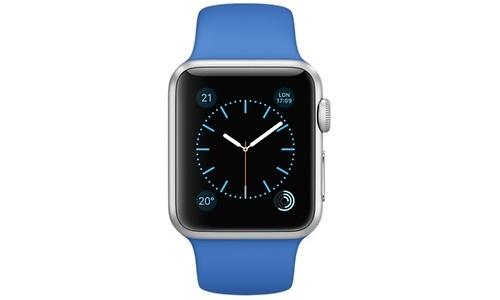 Apple Watch Sport 38mm Silver Aluminium Case Royal Blue