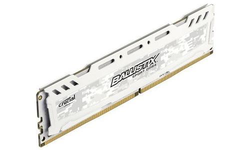 Crucial Ballistix Sport LT White 4GB DDR4-2400 CL16