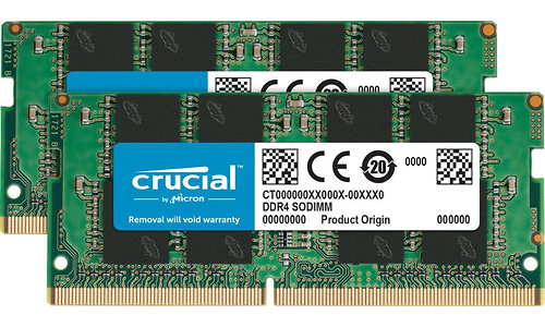 Crucial 16GB DDR4-2133 CL15 kit Sodimm