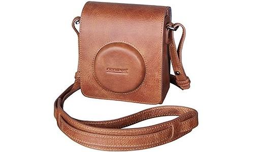 Olympus Stylus Premium Leather Case Brown
