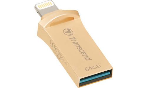 Transcend JetDrive Go 500 64GB Gold