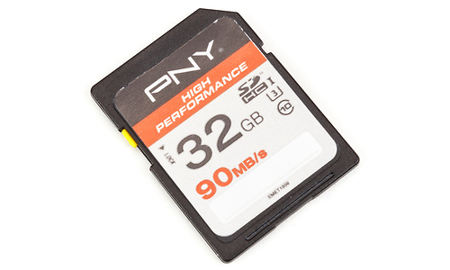 PNY High Performance SDHC UHS-I U3 32GB