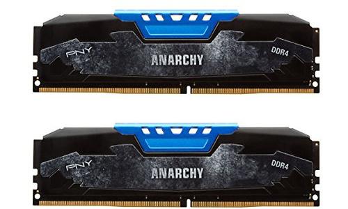 PNY Anarchy Blue 16GB DDR4-2400 CL15 kit
