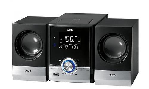 AEG MC 4461 BT Black