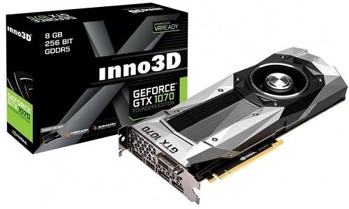 Inno3D GeForce GTX 1070 Founders Edition 8GB