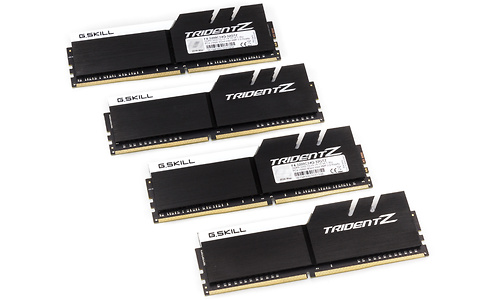 G.Skill Trident Z 32GB DDR4-3200 CL14 Black/White quad kit