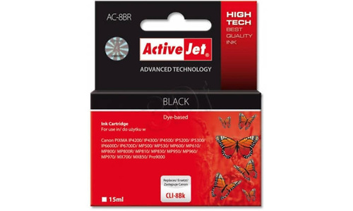 ActiveJet AC-8BR Black