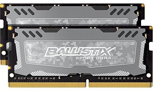 Crucial Ballistix Sport LT Grey 8GB DDR4-2400 CL16 kit Sodimm