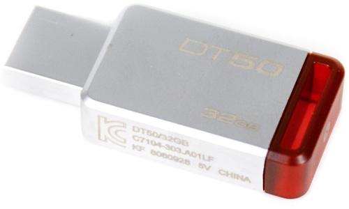 Kingston DataTraveler DT50 32GB Red