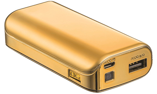 Trust Urban Powerbank 4400 Portable Charger Gold
