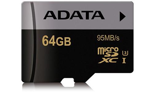 Adata Premier Pro MicroSDXC UHS-I U3 64GB