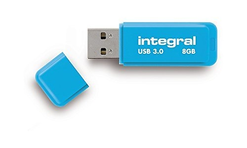 Integral Neon 8GB Blue (USB 3.0)